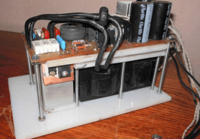 Самодельный сварочный аппарат для ac и dc сварки