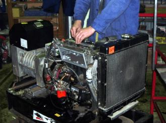 газовый генератор поломка