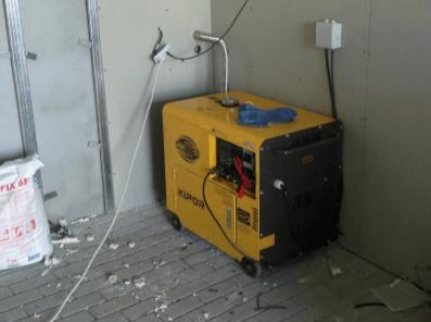 Включение генератора