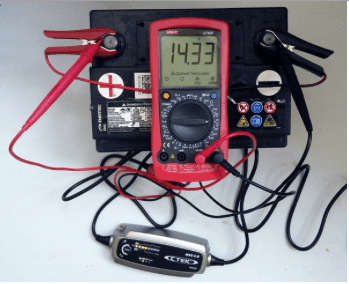 Зарядка нового аккумулятора авто