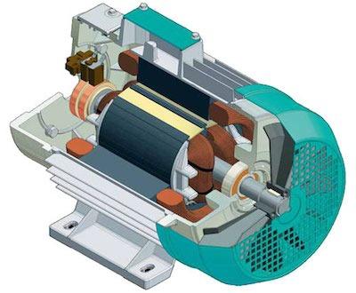Асинхронный генератор принцип работы и устройство