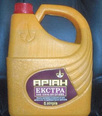 Масло компрессорное Ариан К-12