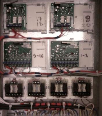 шкафов управления огнезадерживающими клапанами