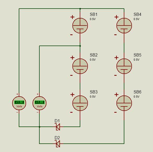 схема соединения фотоэлементов