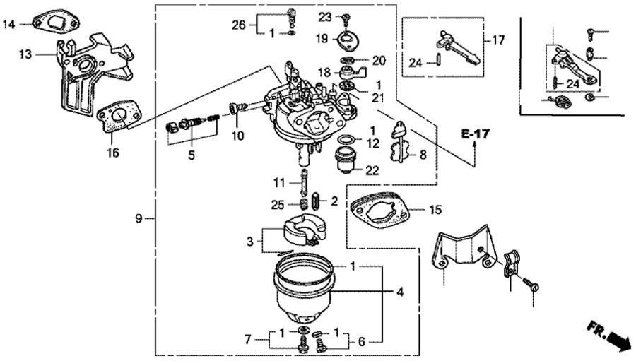 типичная конструкция бензогенератора