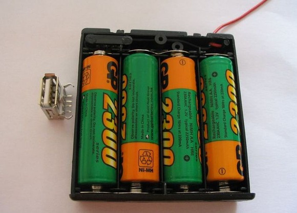 Как сделать аккумулятор заряженный