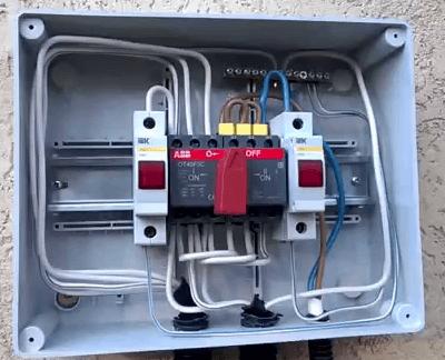 Как подключить генератор к сети дома: схема, основные способы, инструкция